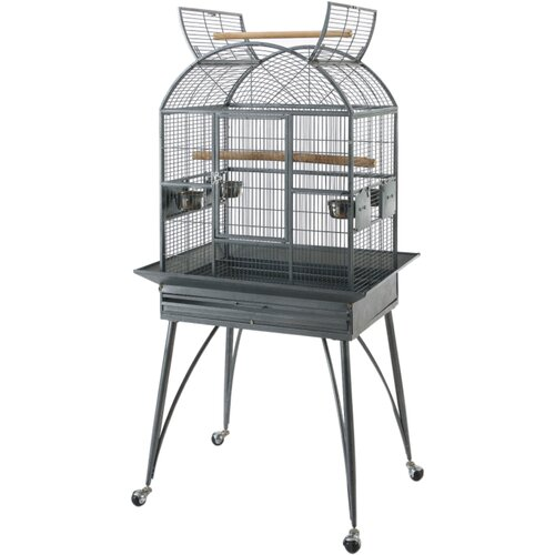 Bono Fido 66cm Bird Delux Cockatiel Cage with Stand