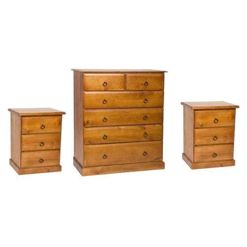 By Designs Madison 3 Piece Bedroom Furniture Set