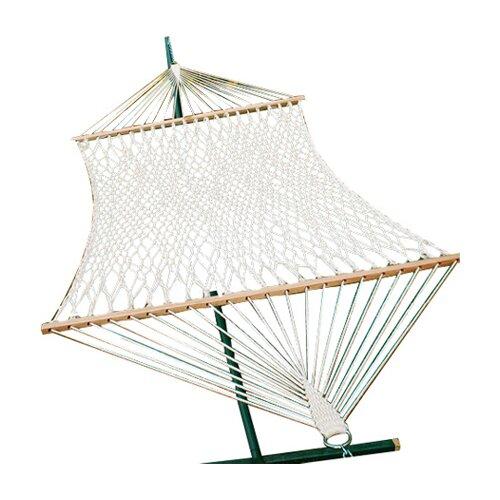 Algoma Net Company Chambers Island 2-Point Cotton Rope Hammock