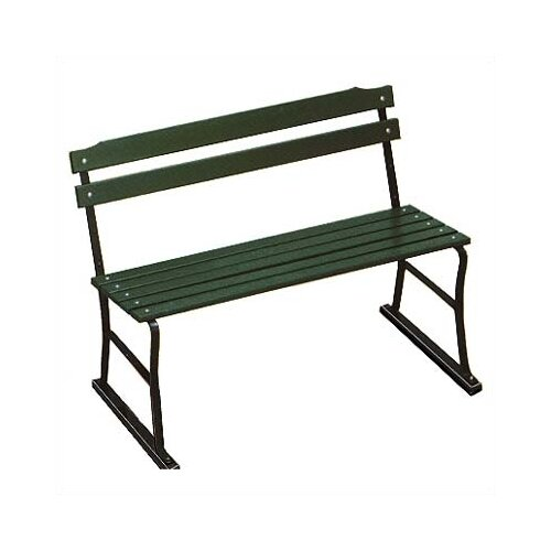 Algoma Net Company Traditional Wood and Metal Garden Bench