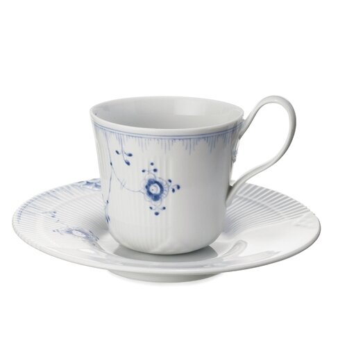 Royal Copenhagen Elements 6.5 oz. Cup and Saucer