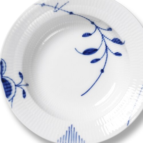 "Royal Copenhagen Blue Fluted Mega 8.25"" Soup Plate"