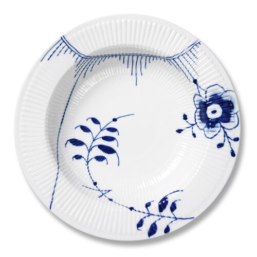 "Royal Copenhagen Blue Fluted Mega 11.8"" Serving Plate"