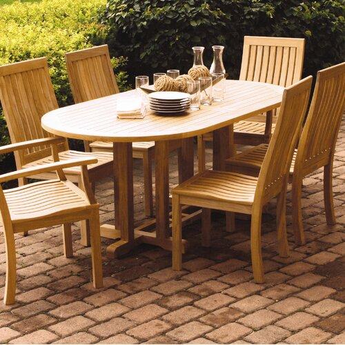 Three Birds Casual Camden Oval Dining Table
