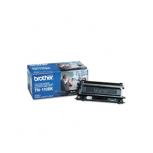Brother Tn110Bk 2500 Page-Yield Toner