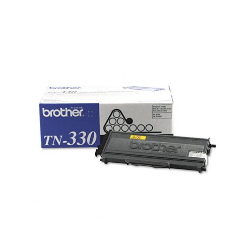 Brother Tn330 1500 Page-Yield Toner, 1500 Page-Yield