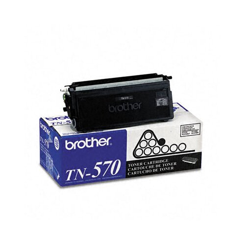 Brother Tn570 High-Yield Toner, 6700 Page-Yield