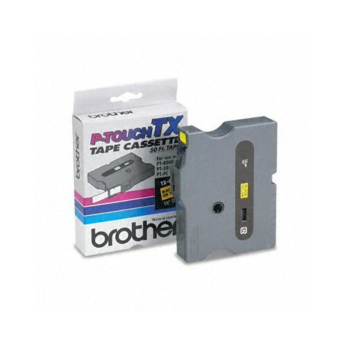 Brother P-Touch Tx Tape Cartridge, Pt-30/35, 1/2W