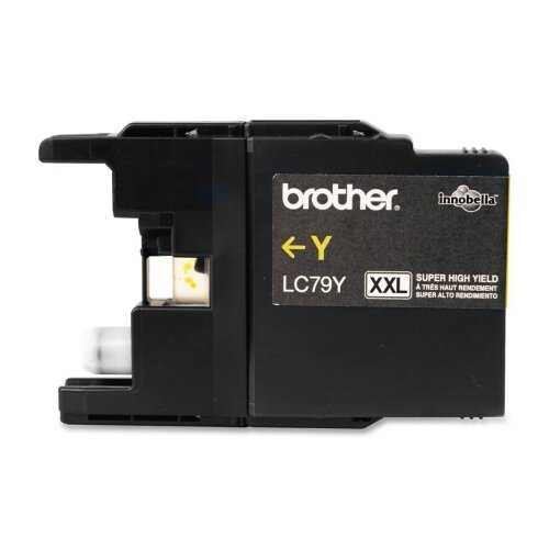 Brother Lc79Y (Lc-79Y) Super High-Yield Ink, 1200 Page-Yield
