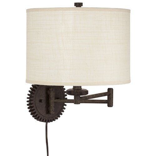 Pacific coast lighting livingston industrial gear swing for Wayfair industrial lamp