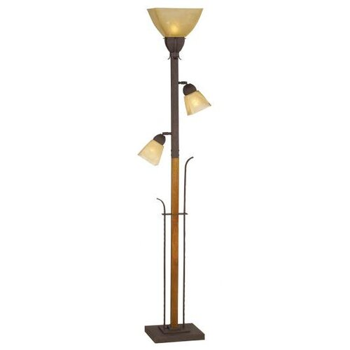 Pacific Coast Lighting Aspen Grove Torchiere Floor Lamp