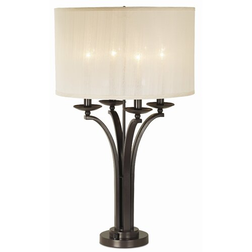 "Pacific Coast Lighting Gallery Pennsylvania Country 31"" H Table Lamp with Drum Shade"