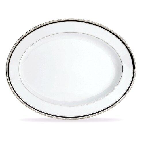 Noritake Toorak Noir Oval Platter