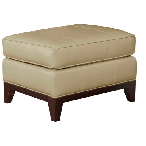 Broyhill® Perspectives Leather Ottoman