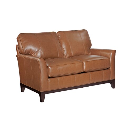 Perspectives Leather Loveseat