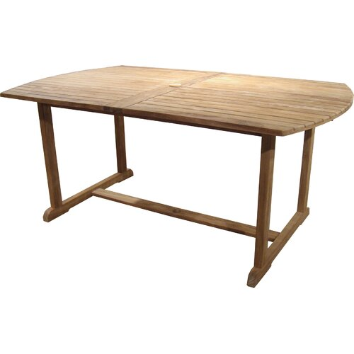 Arbora Teak St Bart Teak Rectangular Dining Table
