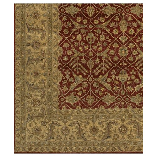 Chandra Rugs Angora Red/Brown Area Rug