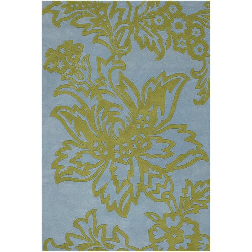 Chandra Rugs Amy Butler Parrot Tulip Rug