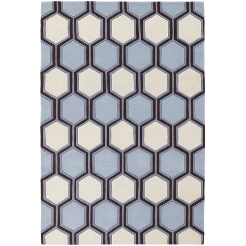 Inhabit Designer Blue/Off White Rug