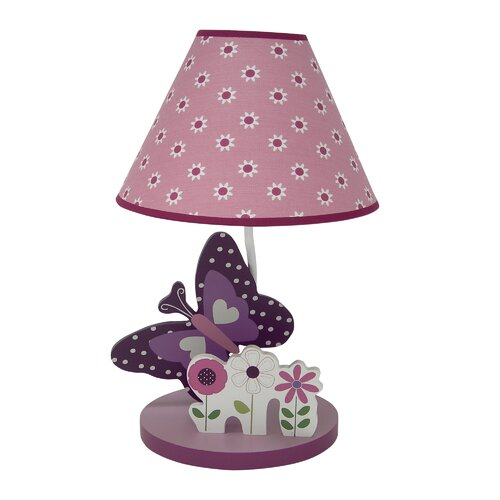 Provence Lamp with Shade and Bulb