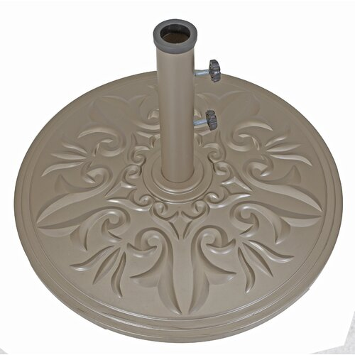 Galtech International Cast Aluminum Free Standing Umbrella Base