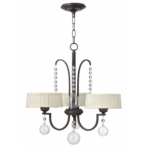 Fredrick Ramond Prosecco 3 Light Chandelier
