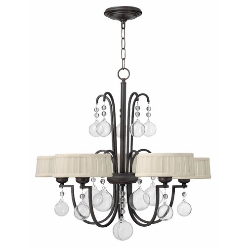 Fredrick Ramond Prosecco 5 Light Chandelier