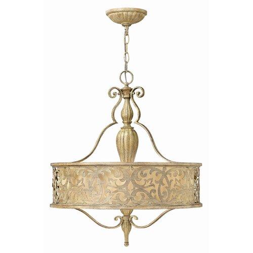 Fredrick Ramond Carabel 3 Light Foyer Pendant