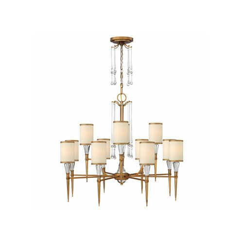 Fredrick Ramond Bentley 12 Light Chandelier