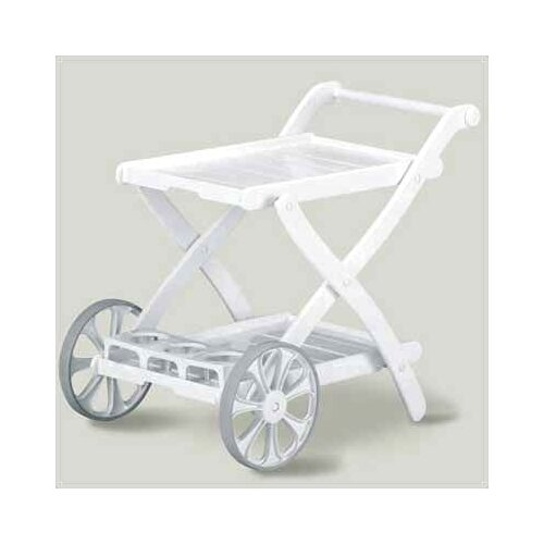 Kettler USA Tiffany 2 Wheel Serving Cart