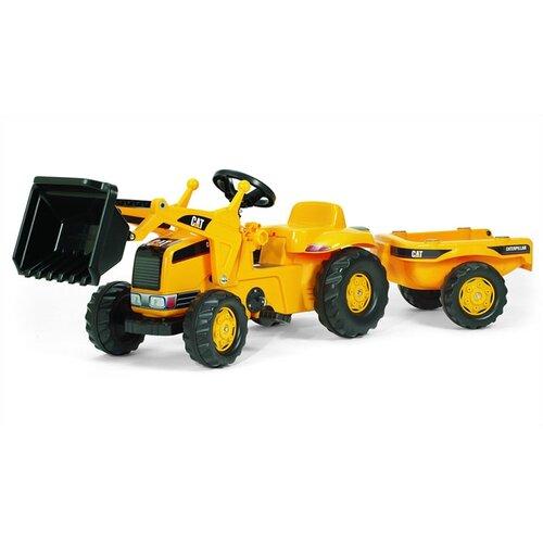 Caterpillar Riding Toys For Boys : Kettler cat kids pedal tractor reviews wayfair