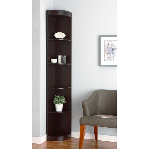 Corner Exhibition Stands Canada : Corner bookcases wayfair