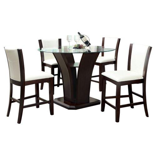Hokku Designs Carmilla Counter Height Table amp Reviews  : Carmilla2B52BPiece2BCounter2BHeight2BDining2BSet from wayfair.com size 500 x 500 jpeg 25kB