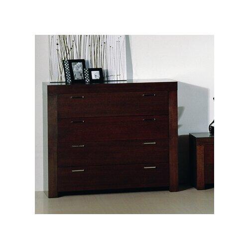 Hokku Designs Traxler 4 Drawer Traxler Dresser