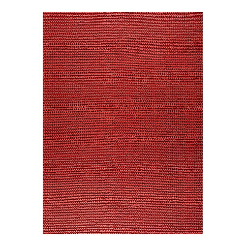 Hokku Designs Jammu Red Rug