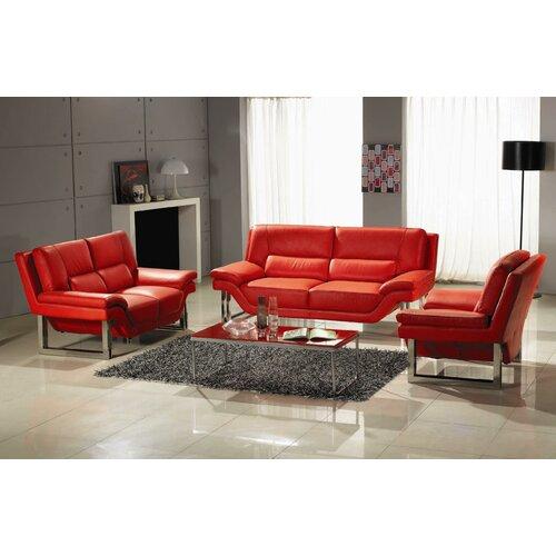 Hokku Designs LA Leather Chair