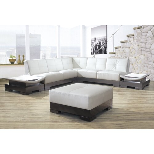 Mirage Bonded Leather Sectional
