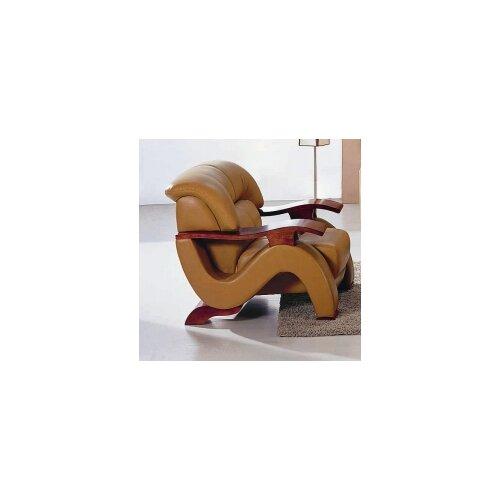 Hokku Designs Chrysocolla Leather Chair