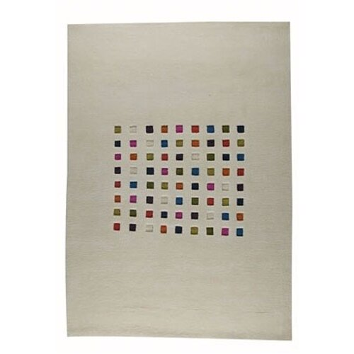 Hokku Designs Mosaik White/Multi Rug