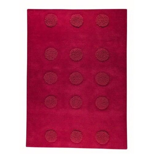 Hokku Designs Malmoe Red Rug