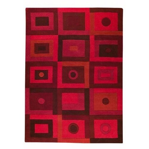 Hokku Designs Berlin Red Rug