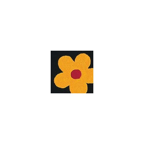 Hokku Designs Milan Black Blossom Rug