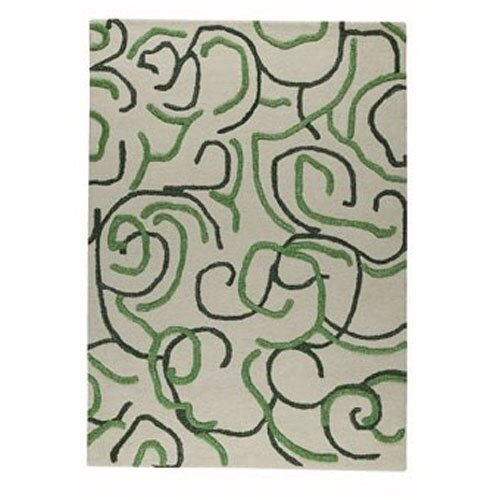 Hokku Designs Curio Green Rug
