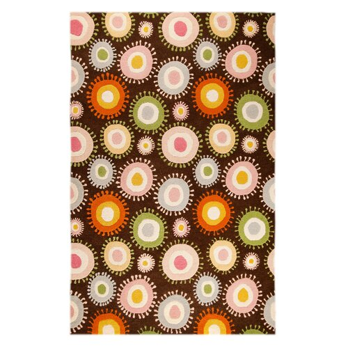 Hokku Designs Anibo Chocolate/Multi Rug