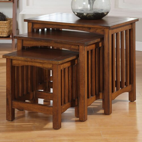 Hokku Designs Valencia 3 Piece Nesting Tables
