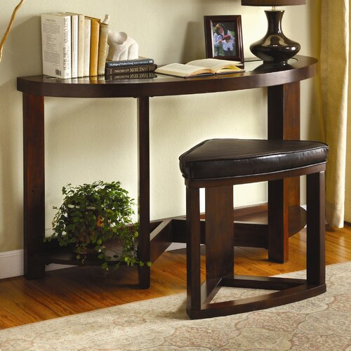 Hokku Designs Cristel 2 Piece Console Table with Stool Set