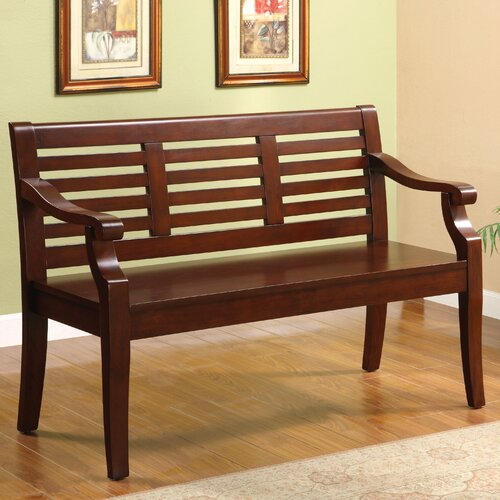 Angelle Wood Entryway Bench