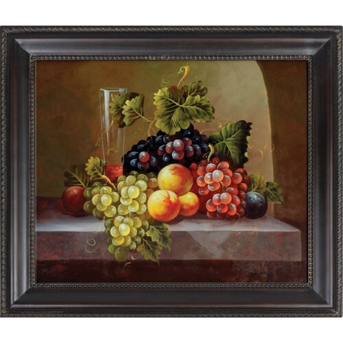 Hokku Designs Fruits Framed Original Painting