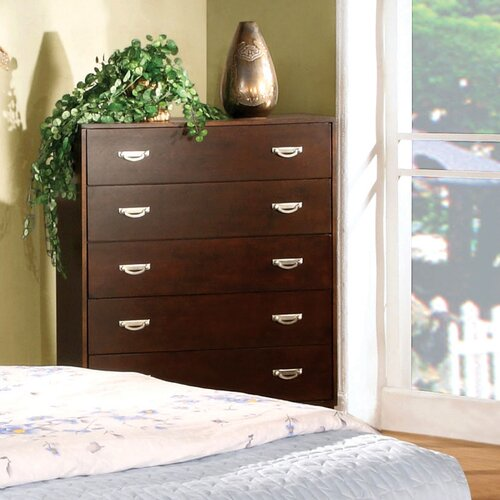Hokku Designs Berkley 5 Drawer Chest