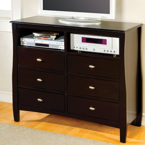 Hokku Designs Milano 6 Drawer Chest